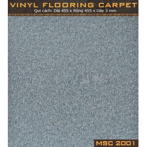 Sàn nhựa vân thảm MSC2001