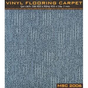 Sàn nhựa vân thảm MSC2006