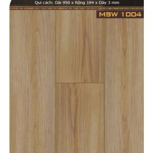Sàn nhựa giả gỗ MSW1004