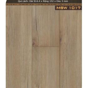 Sàn nhựa giả gỗ MSW1017
