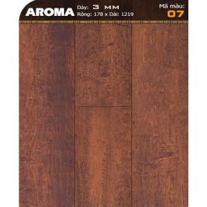 Sàn nhựa vân gỗ AROMA 07