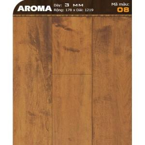 Sàn nhựa vân gỗ AROMA 08