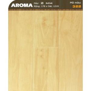 Sàn nhựa vân gỗ AROMA 322
