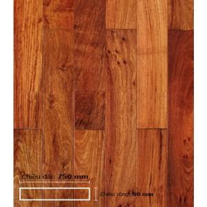 Sàn gỗ Giáng Hương 750 mm