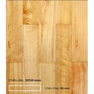Sàn gỗ Pơ Mu 1050 mm