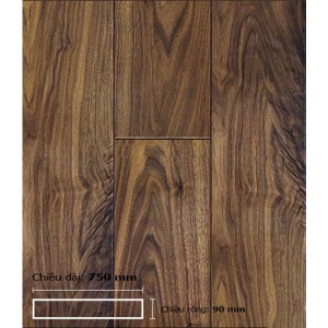 Sàn gỗ Walnut - Óc Chó 750 mm